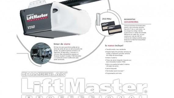 Acsa Portones Motor Liftmaster 1425e